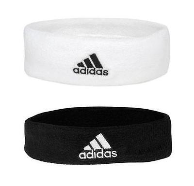 Adidas Adults Tennis Head Band Headband Tennis Black/White