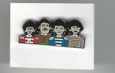 """The BEATLES 1 1/4"""" Hat Pin  Sgt. Pepper"""