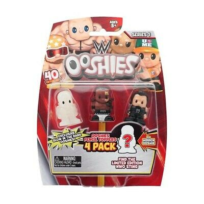 WWE Ooshies Series 1 Wrestler Rare Figure Toy Small Roman Reigns