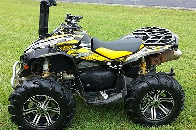 Can am RENEGADE 800 1000 R X graphics sticker kit full coverage #3500 Yellow