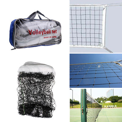 Standard Size Volleyball Net Beach Indoor Outdoor Netting with Storage Bag