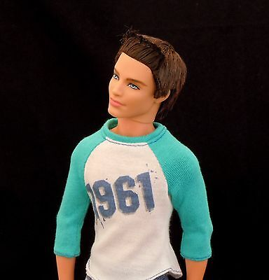 Ken Ryan Articulated Dressed Doll 100 Moves Mattel Original New
