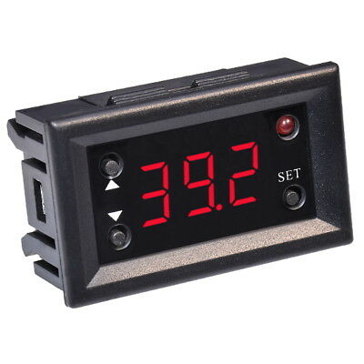 W1218 Digital Thermostat 12V + NTC Sensor Einstellbar Temperaturregler Schalter