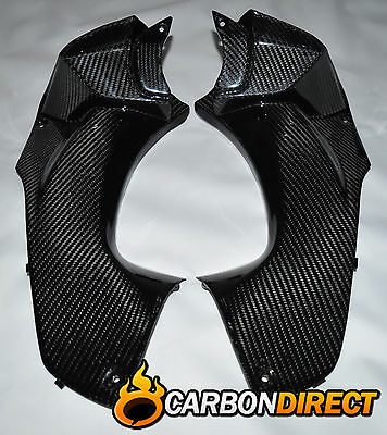 Kawasaki Zzr1400 Zx14 Ninja Carbon Fibre Ram Air Covers Ducts Zzr 2012-2016