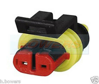 SSC2MF Sealey Superseal Male /& Female Connector 2 Way 1pr Electrical