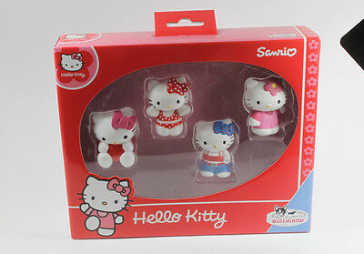 Hello Kitty === 4 x Figuren in Box Bully Bullyland
