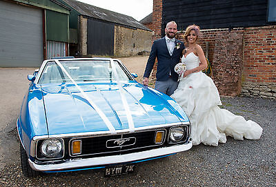 Ford Mustang Wedding/Prom car hire