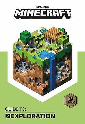Minecraft Guide to Exploration - Official Minecraft book Mojang NEW Hardcover