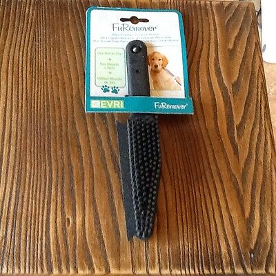 Evriholder FuRemover  Pet Hair Removal Brush Use Wet Or Dry