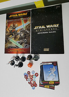 STAR WARS Miniatures Revenge of the Sith Starter Board Game  SPARE PARTS!
