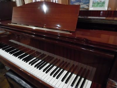 grand piano by august forster 6ft long superb playing instrument