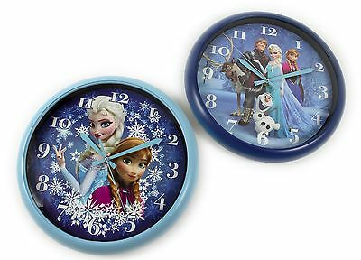 Large Disney FROZEN Wall Clock 30cm Official Anna Elsa Girls Kids Bedroom Boxed