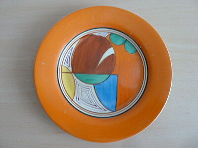 "Clarice Cliff 8"" Plate Melons Pattern"