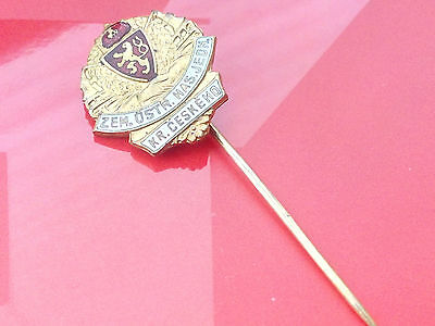 ULTRA RARE Firefighting & Rescue Firedepartment RCS from 1900 - 1918 old badge