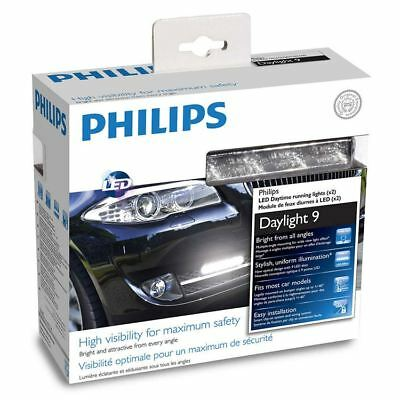 PHILIPS 12V 6W DayLight 9 LED Daytime running lights 12831WLEDX1 Set