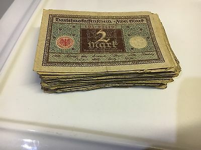 Old German Notes 2 Mark (1920)