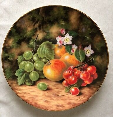 Royal Albert Spring Fruits By John Smith Painted Fruit Series Collectors Plate