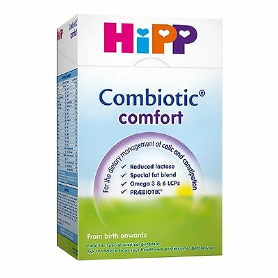 Hipp Combiotic Comfort Milk from Birth 800g 1 2 3 6 12 Packs