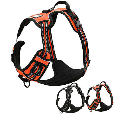 Truelove Best No Pull Dog Harness Vest Reflective Soft for Small Large Dog XS-XL