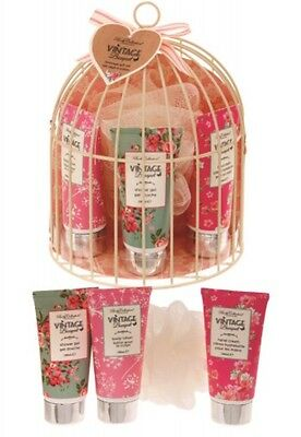 Body Collection Vintage Bouquet Half Birdcage Gift Set RRP £15