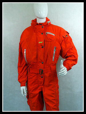 Vintage Retro Ski Suit All in One 80'S 90'S Chervo Size: 42
