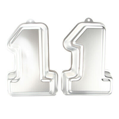 Number One 1 Cake Tin Ideal Baby 1ST 11TH Birthday Special Occasion PK