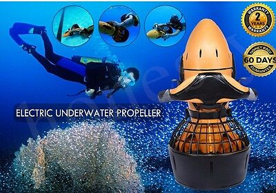 Sea-Scooter Underwater Pro 300W Electric Waterproof Dual Speed SafetyProp/6kmhUK