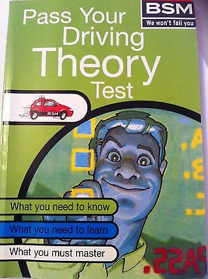 Pass Your Driving Theory Test BSM British School of Motoring Published by Virgin
