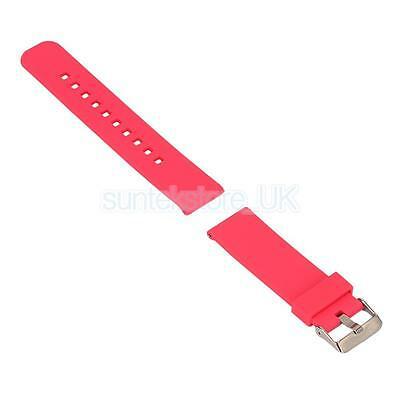 Luxury Silicone Strap Replacement Watch Band for Garmin Fenix Chronos Red