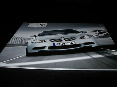 Bmw M3 coupè E92 Depliant Brochure Italiano