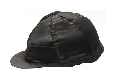 Hy Satin Silks Riding Hat Cover - Black or Navy