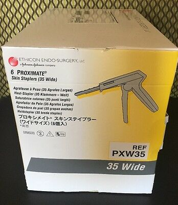 Ethicon PXW35 Skin Staplers. 6 Pack. 5/2020