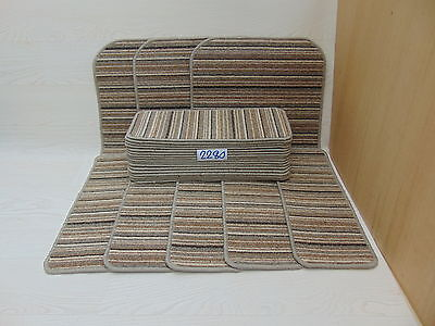 Carpet Stair pads / treads 50cm x 20cm 22 off and 76cm x 46cm 3 Big Mats 2279-1