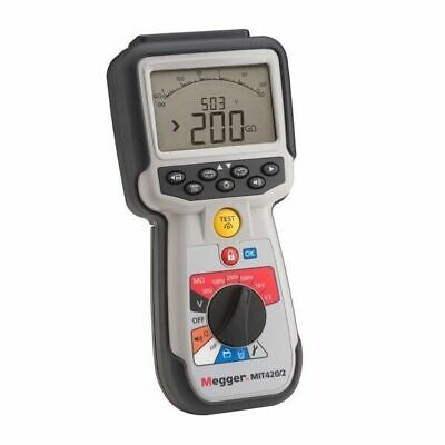 Megger MIT420/2 CAT IV Insulation Tester. Tests up to 1000 V and 200 G? Range