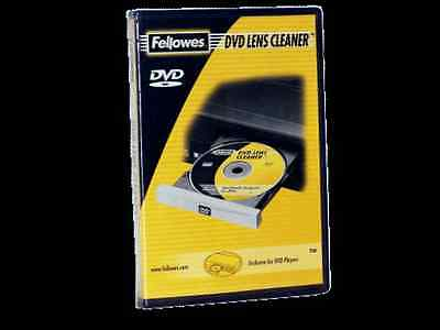 2 Fellowes DVD Lens Cleaner Exclusive for DVD Players Only 2 DVD Lens Cleaners
