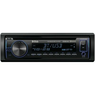 BOSS 750BRGB Single-DIN In-Dash CD AM/FM/MP3 Receiver with BT