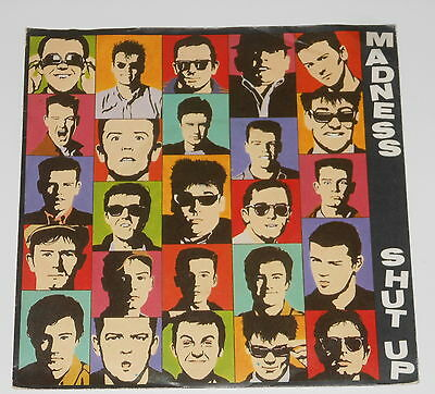 "Madness - 7"" Single + PRODUCT FACTS - Shut Up - Teldec 6.13 260"