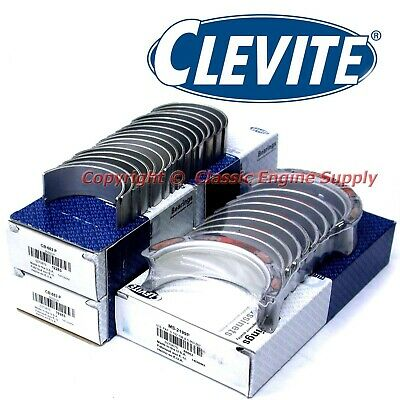 "New Clevite .010"" Rod & Main Bearing Set Chevy GM LS 4.8L 5.3L 5.7L 6.0L 6.2L"