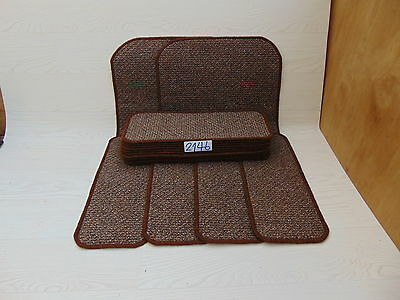 Carpet Stair pads 50 cm x 20 cm 15 off and 2 Big Mats at 64 cm x 46 cm 2146-2