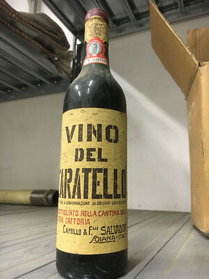 Vino del Caratello del 1967
