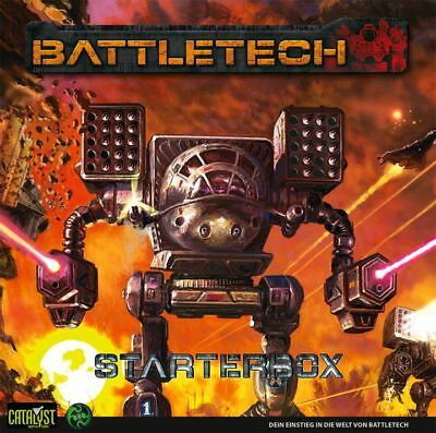BattleTech Starterbox (Deutsch) US40012 Battlemech Catalyst Game Lab Einsteiger