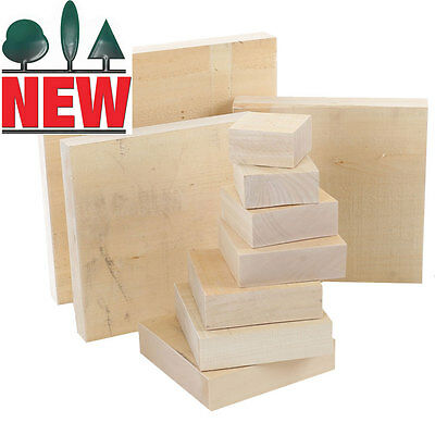 Lime Carving Blank, 40mm thick, Sawn, Square