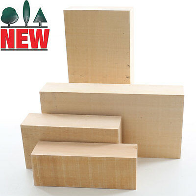 Lime Carving Blank, 54mm thick, Sawn, Rectangles