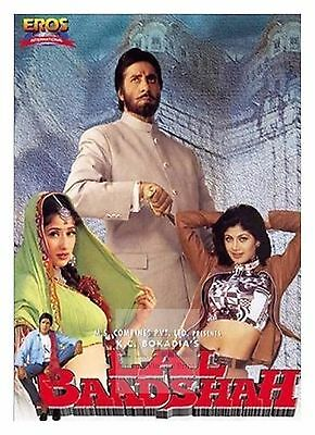 LAL BAADSHAH Amitabh Bachan Bollywood Movie Posters Classic Indian
