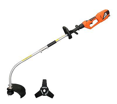 eSkde 2 in 1 Electric Garden Brush Cutter Strimmer Split Shaft Bump Feed Head