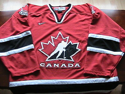 Marc Andre Fleury Team Canada World Junior Signed Jersey [Signed In Cape Breton]