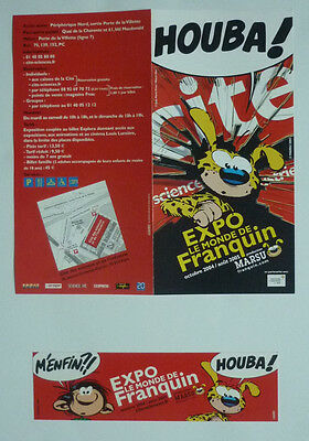 Franquin : Lot De 5 Documents