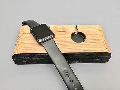 100% Handcrafted Apple iWatch Charging Stand For TWO watches 38mm Or 42mm