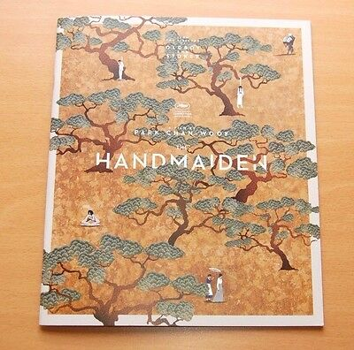 THE HANDMAIDEN In-Person Signed Official Pressbook PARK CHAN-WOOK KIM MIN-HEE