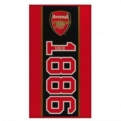 Arsenal Large Beach Towel (Official Merchandise)